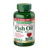 Natures Bounty Cholesterol Free Fish Oil 1000mg