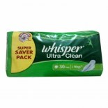 Whisper Ultra Clean Large Wings (30S) - 1389356464