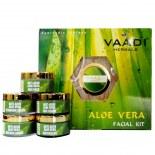 Vaadi Herbals Aloe Vera Facial Kit With Aloe Vera, Cedarwood Oil, Grapeseed &Turmeric Extract