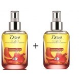 Dove Elixir Nourished Shine Hair Oil - Hibiscus & Argan Oil (Buy 1 Get 1 Free)