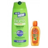 Garnier Fructis Long & Strong Shampoo + Garnier Fructis Goodbye Damage Hair Oil 200ml Free