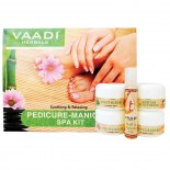Vaadi Herbals Pedicure Manicure Kit With Grapeseed Extract & Fenugreek